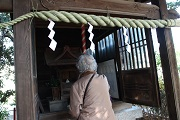 岡山初詣(背中)
