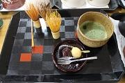 和菓子とお茶